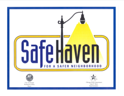 Safe Haven sign