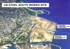 Lakeside Development top viewb