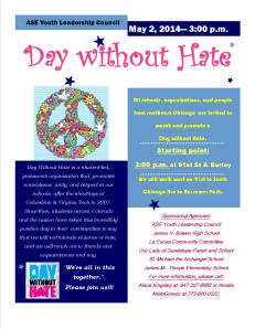 A Day Without Hate