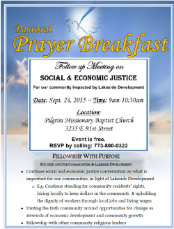 Lakeside Coalition Prayer Breakfast flier 09-24-15