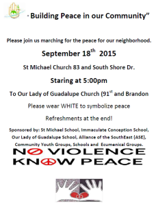 Youth March for Peace 09-2015 eng