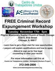 Expungement Workshop 11-17-15