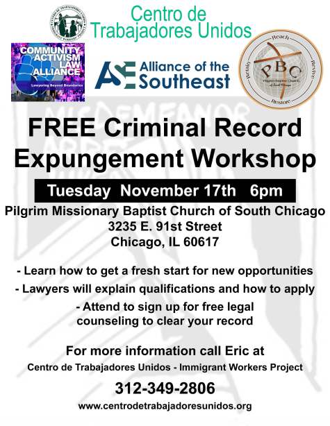 Expungement Workshop 11-17-15