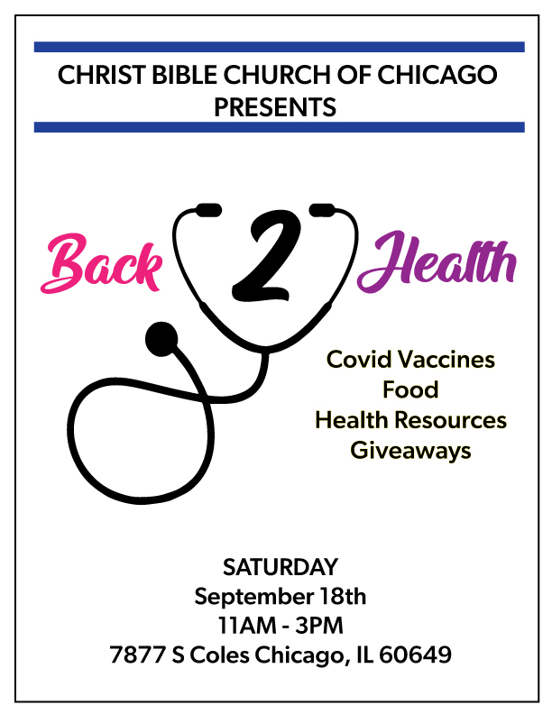 Christ Bible back-to-health-resource fair 09-18-21